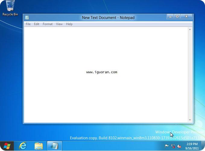 Windows8桌面