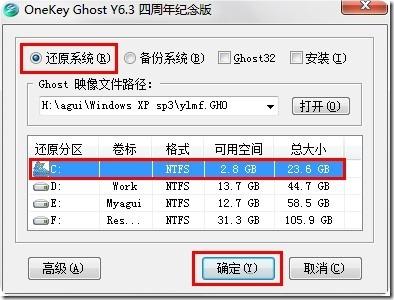 运行onekey ghost_原始尺寸_iRoundPic